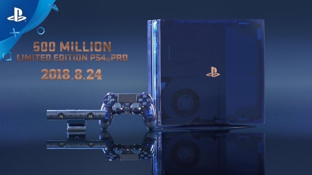 「PlayStation®4 Pro 500 Million Limited Edition」の画像検索結果