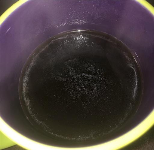 コーヒー豆の油分