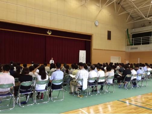 羽島市特別支援学校ビジョントレーニング講座の様子②