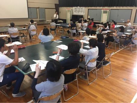 本巣市特別支援学校ビジョントレーニング講座の様子②