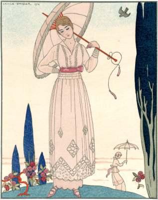 Gazette du Bon Ton : 20世紀初頭フランス・ファッション雑誌 ...