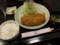 2012/05/01 「とんかつ雅」上ロースかつ定食