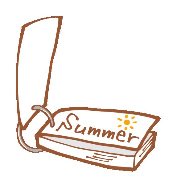 英単語ノートのイメージ図