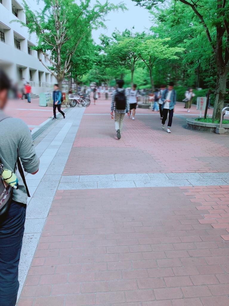 大阪大学のメインストリート