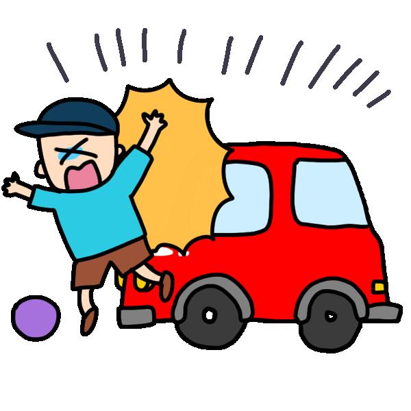 交通事故のイメージ図