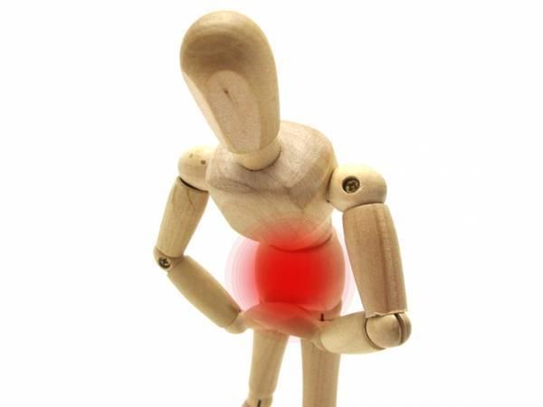 腹痛のイメージ図