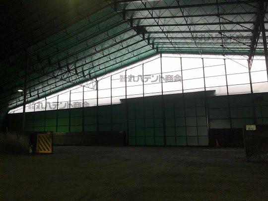 テント倉庫、施工事例