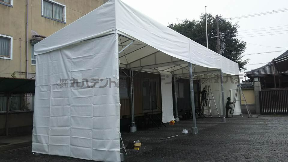 組み立て式テント