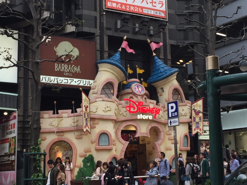 渋谷のディズニーストアその2