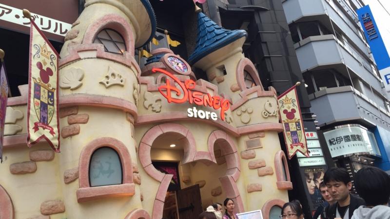 渋谷のディズニーストアその3