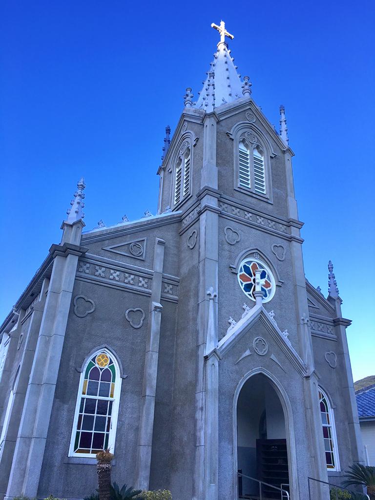 崎津教会2