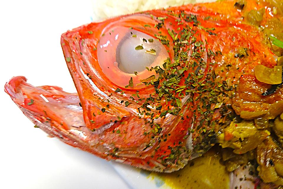 金目鯛のココナッツ・カレー