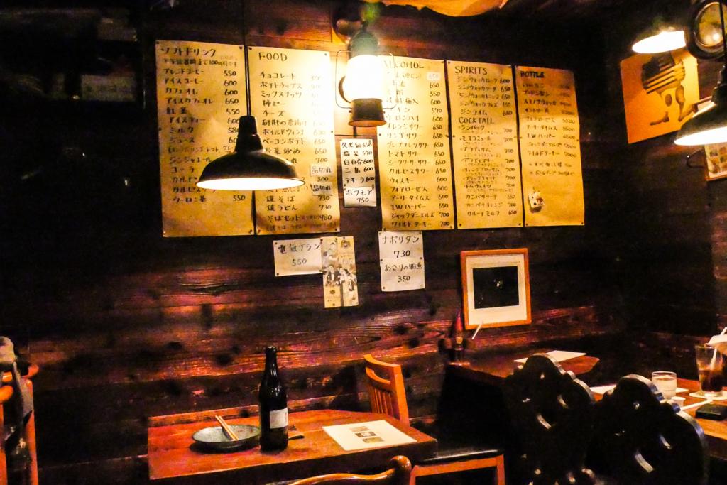 ジャズ喫茶 ラグタイムの店内の写真