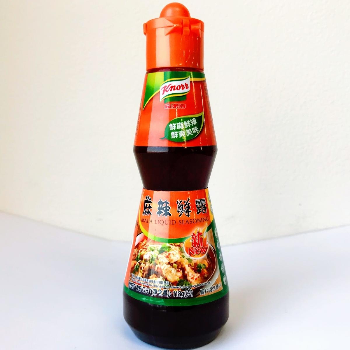 麻辣鮮露  香港クノール