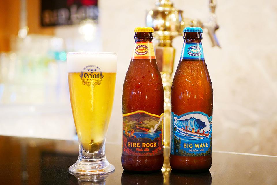 沖縄を代表するオリオンビール 南国気分で地ビール