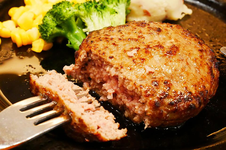 レッドロブスター沖縄国際通り店限定メニュー・アグー豚と石垣和牛のハンバーグ