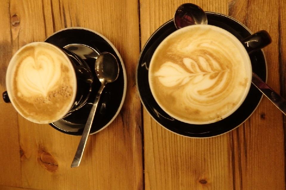 イタリアのカフェラテ