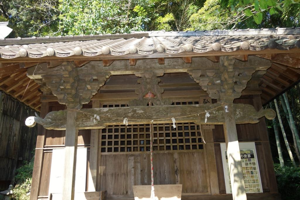 月山神社二重鳥居