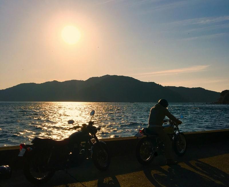 ぶぶしの瀬戸からの夕日