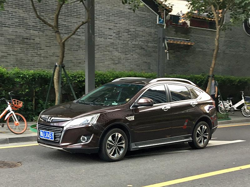 ラクスジェン東風裕隆 納智捷 优6 SUV