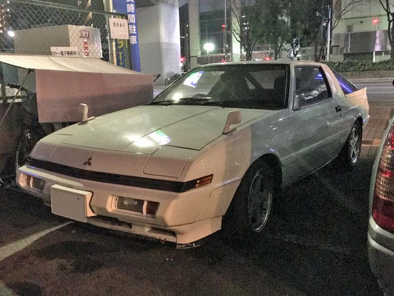 三菱・スタリオン。クライスラー・コンクエスト