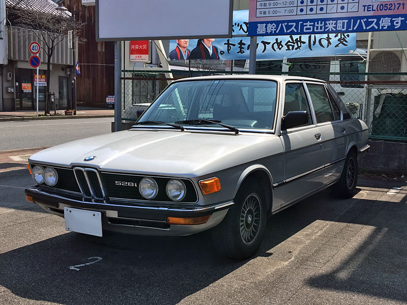 BMW初代5シリーズ