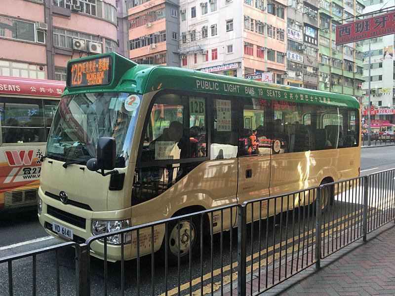 香港小巴(マイクロバス)新型コースター