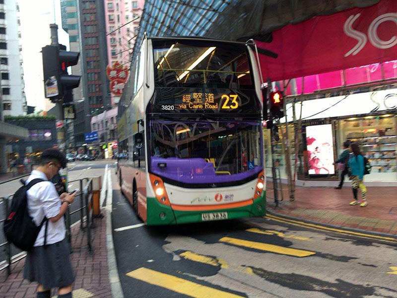 香港巴士(路線バス)enviro400