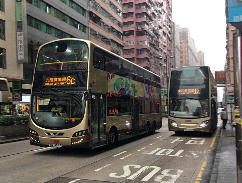 香港巴士(路線バス)wright eclipse gemini enviro 500