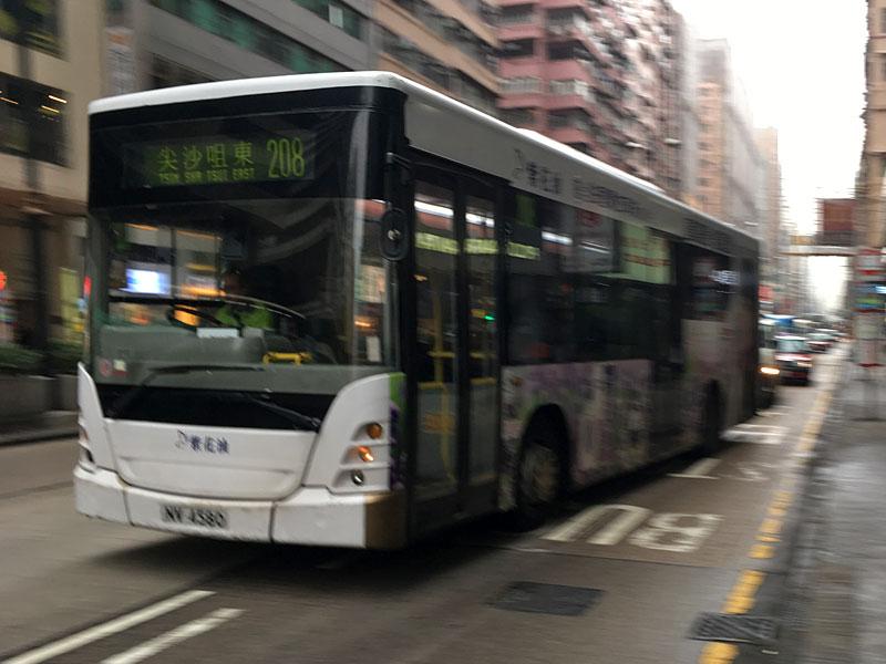 香港巴士(路線バス)スカニアK230UB