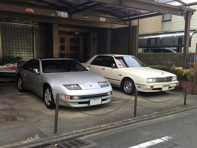 Z32と初代シーマ