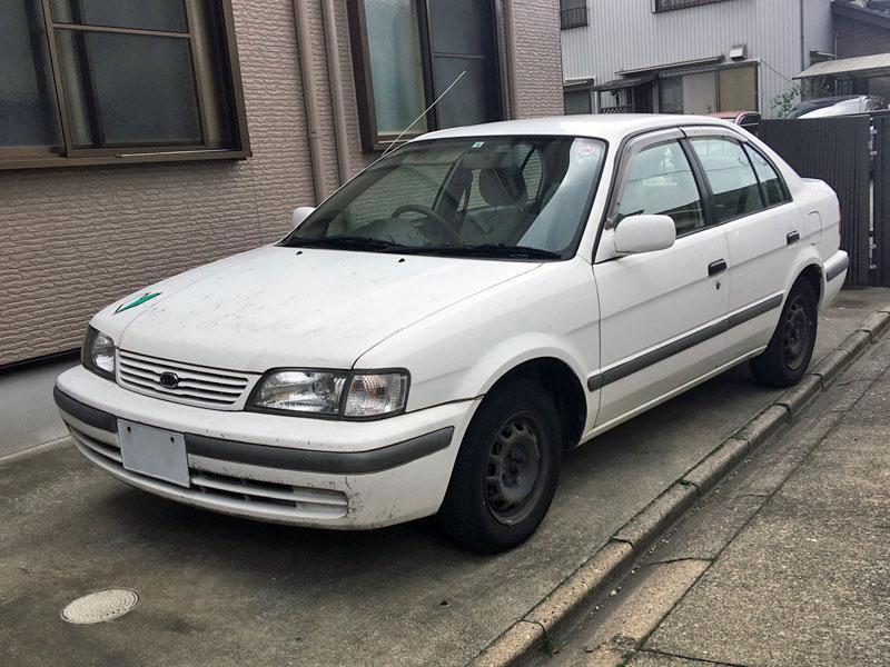 5代目トヨタ・コルサ