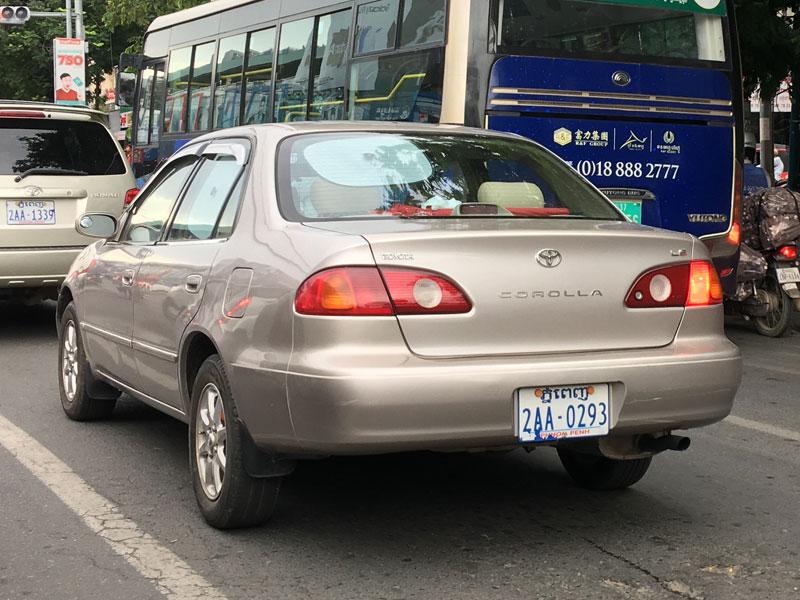 8代目トヨタ・カローラ