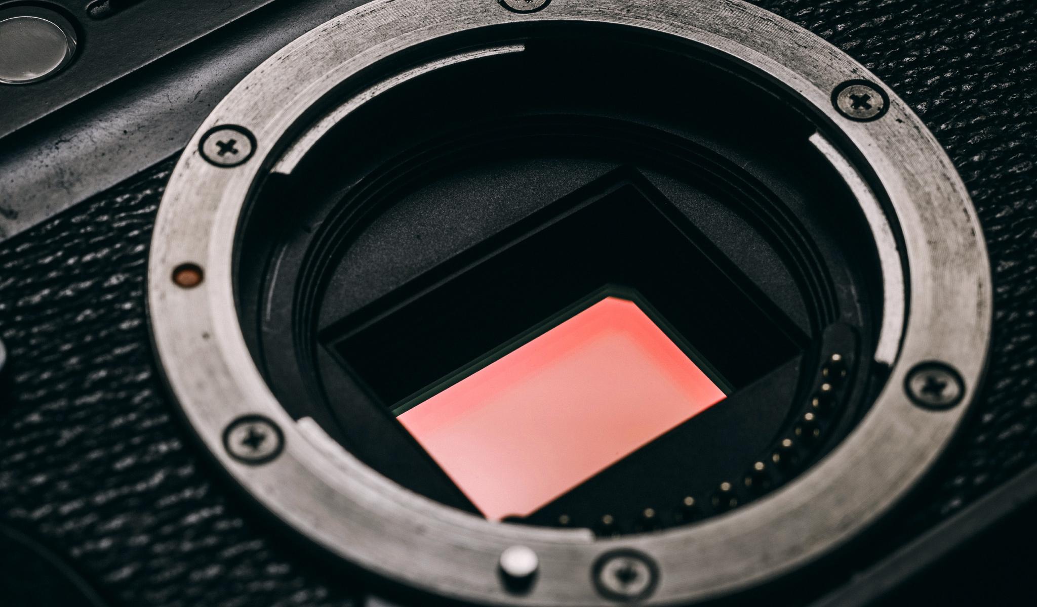 CMOSセンサーのイメージ