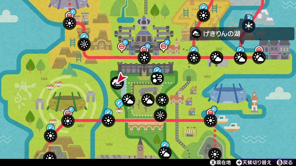 タウンマップ画像