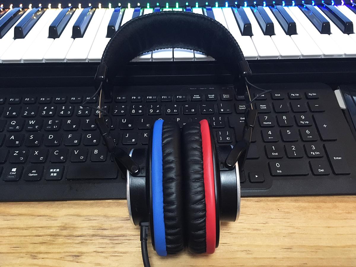 YAXI ( ヤクシー ) / Studio Headphone DX ブルー&レッド stpad-DX-LR