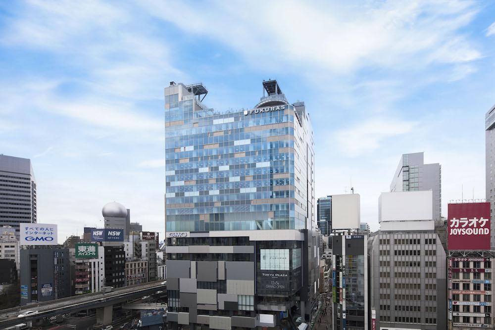 完成した渋谷フクラスの外観