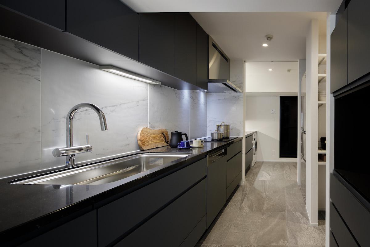 ESTAH目黒ショールームのキッチン