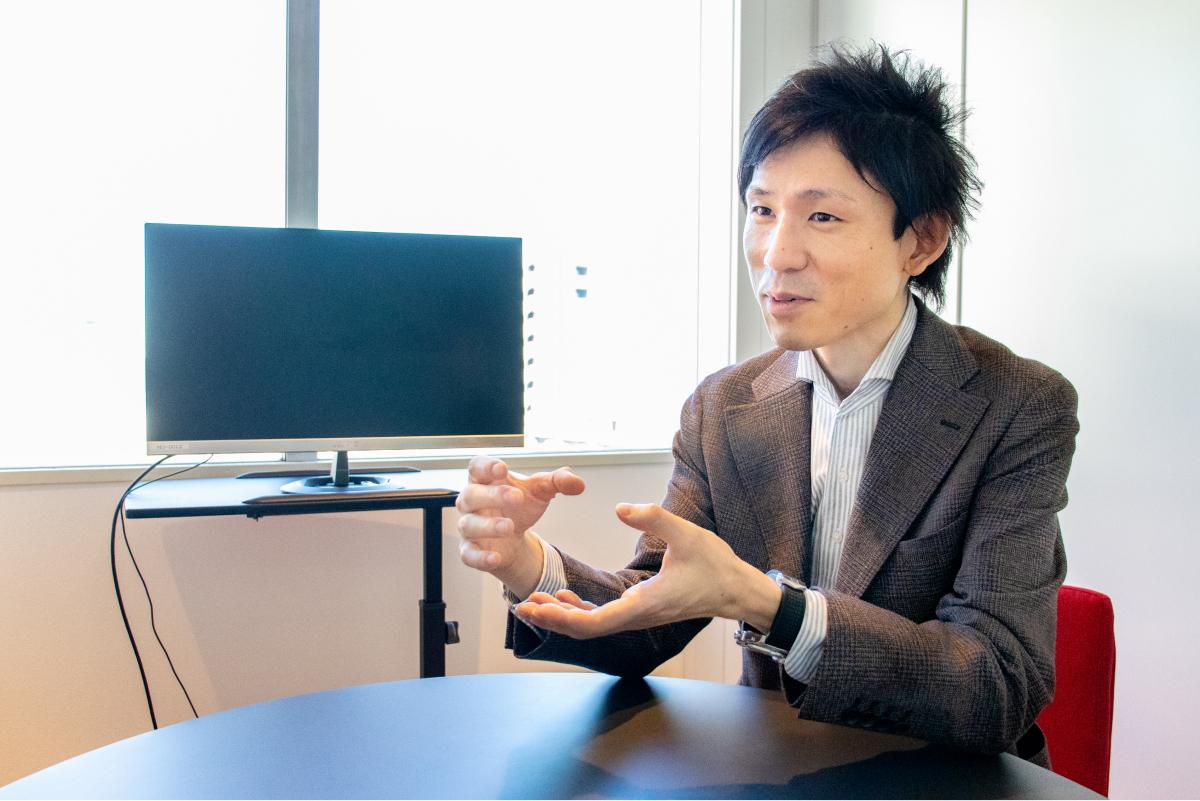 iYell株式会社_小林氏のインタビュー写真