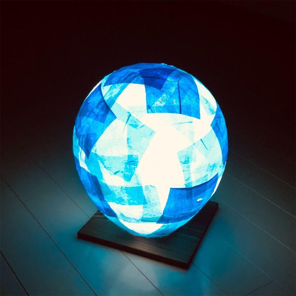 100均DIY 風船と和紙で作る照明