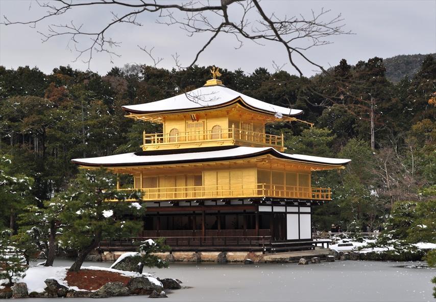 【左京区 不動産】金閣寺に行こう