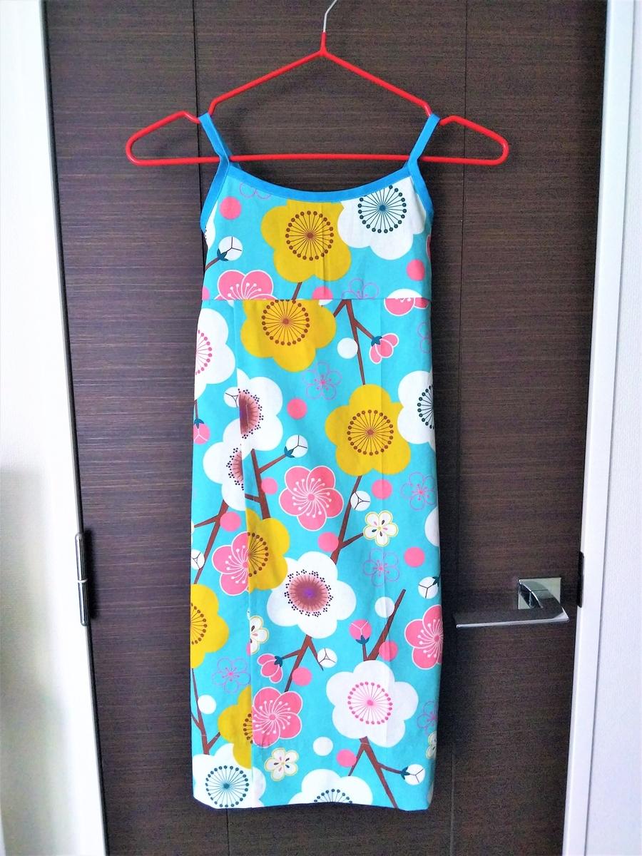 セパレート浴衣のサマードレス
