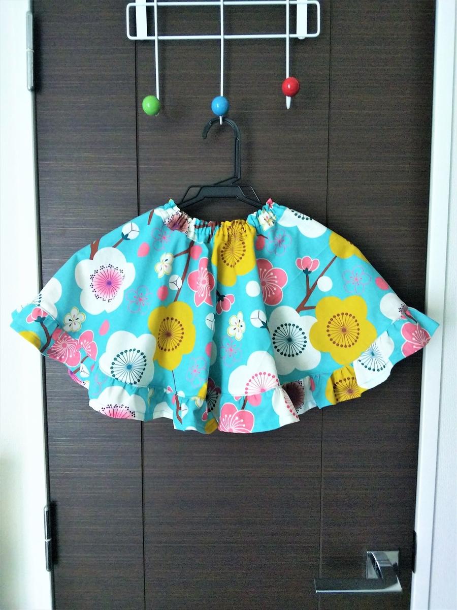 浴衣ドレス風サーキュラースカート