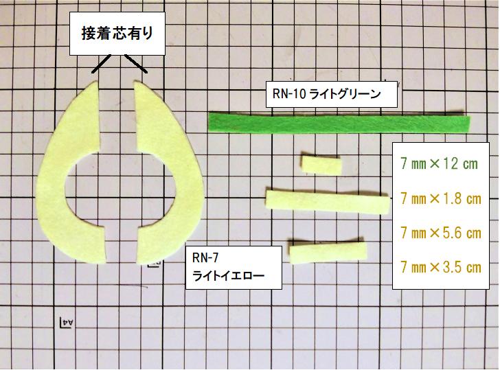 アボカドの作り方①【フェルト手芸】