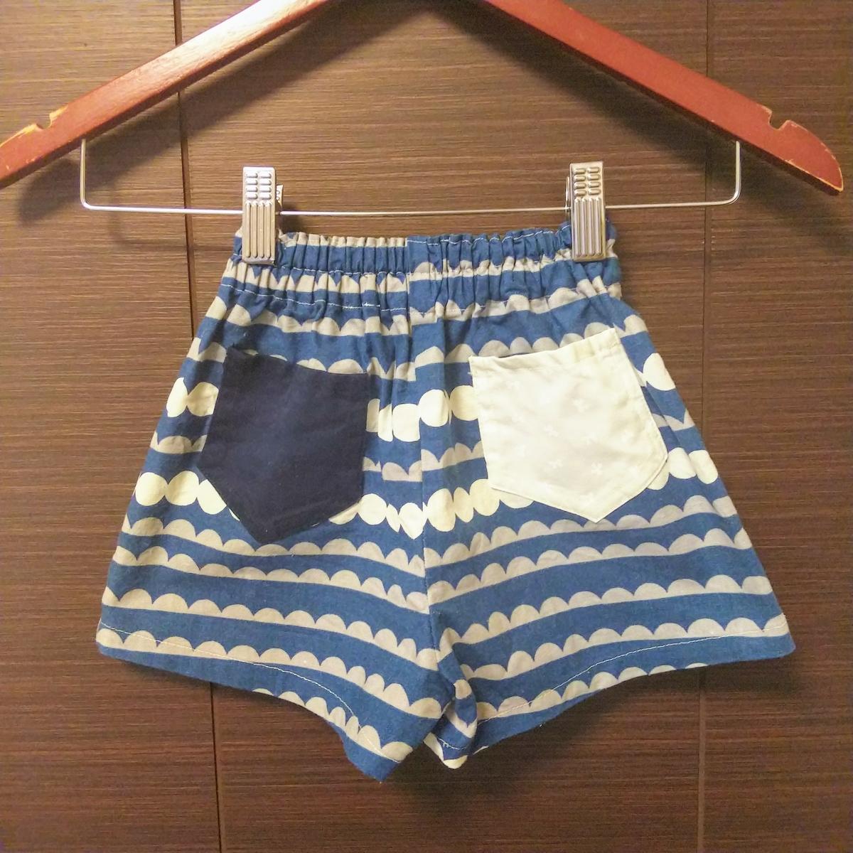 『女の子用ショートパンツ』②