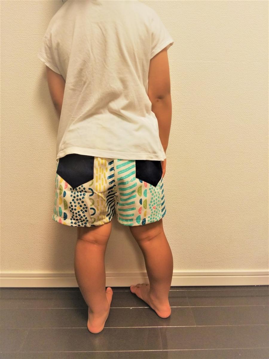 『女の子用ショートパンツ』を着てみた