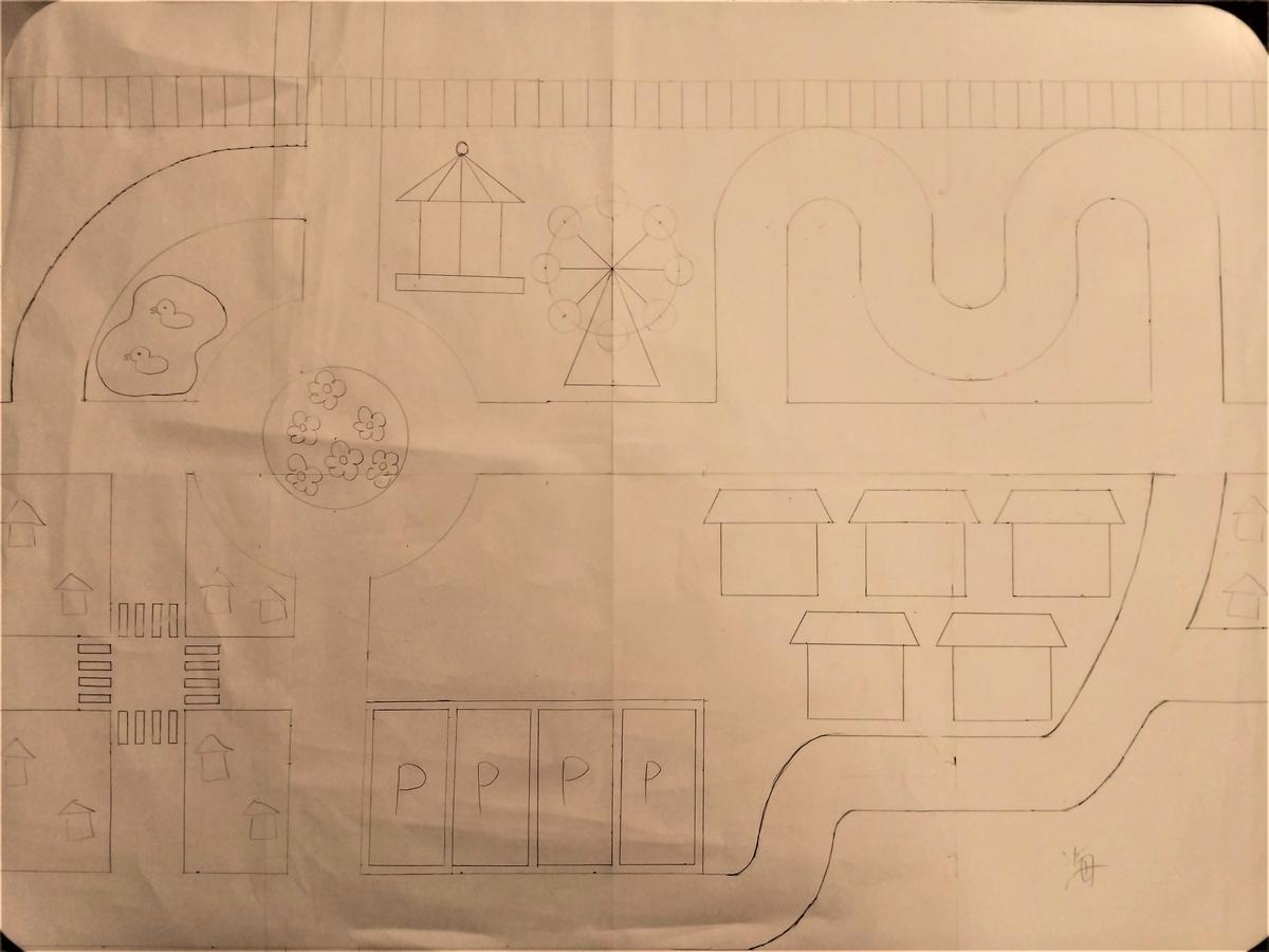 『手作りトミカマップ』型紙