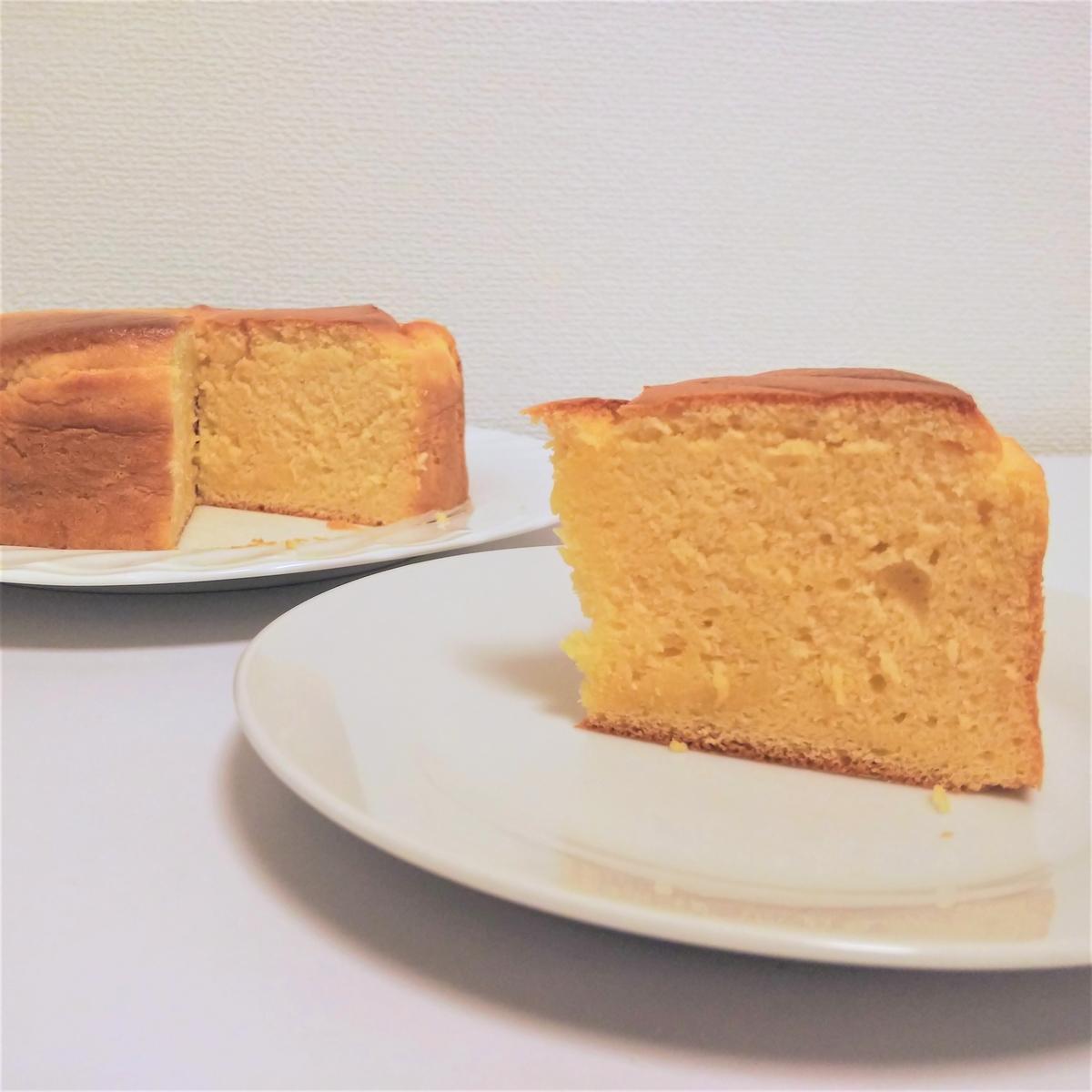 豆乳メレンゲで作る『卵白アレルギー用スポンジケーキ』