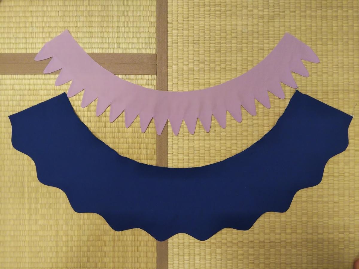 『キュアフォンテーヌの衣装』スカート作り①