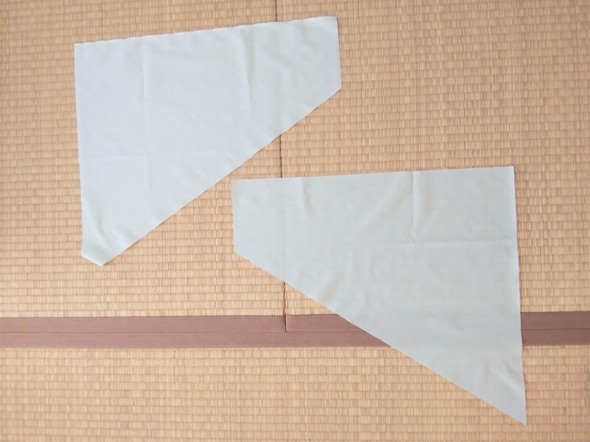 『キュアフォンテーヌの衣装』スカート作り④